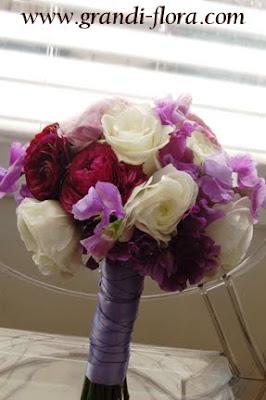spring bouquet ranunculus