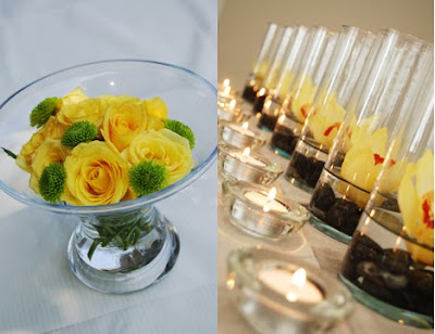 San Francisco Bay Area Wedding Florist EcoFriendly and DIY Centerpieces