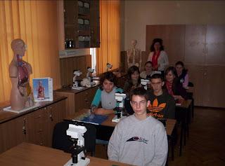 Laborator de biologie