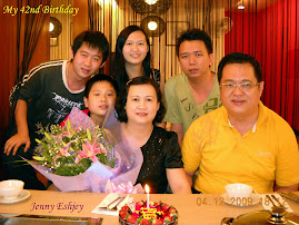 My 42 Birthday Celebration together with My Lovely Family