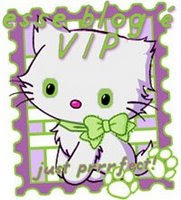 """esse blog e` VIP"" Award from Luiza N Brazil...Thank you!"