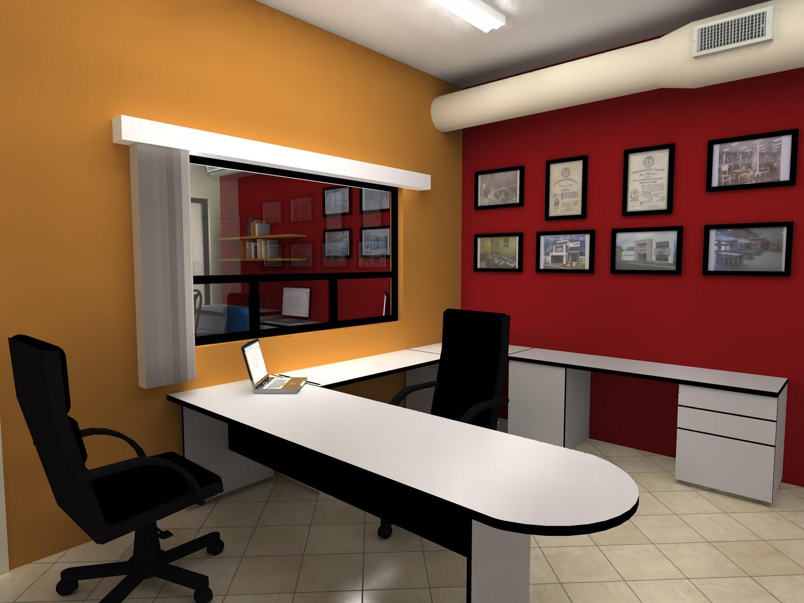 Proyecto lambda remodelacion oficina for Combinacion de colores para oficinas modernas