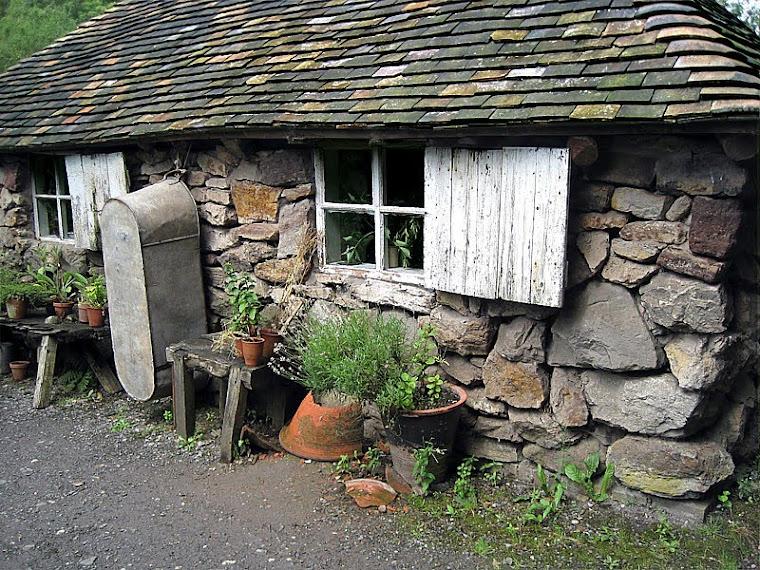 Original stone cottage at Thimble Farm