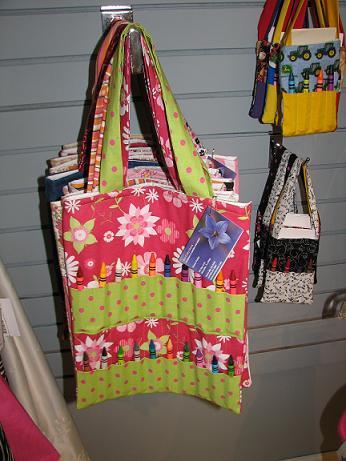 Crayon Fun Tote Bags