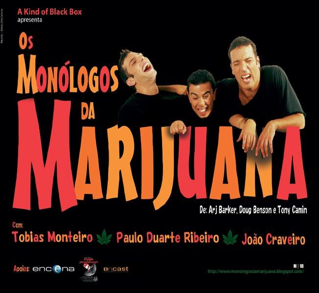 monólogos da marijuana
