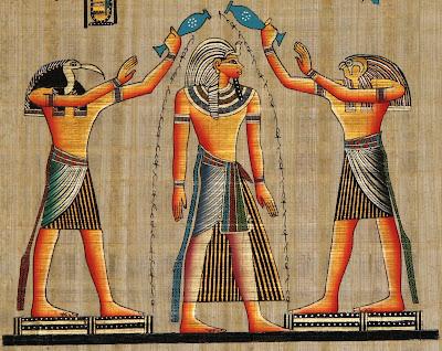[Conte] Le Trésor de Ramsès. Thot+Ramses+Horus