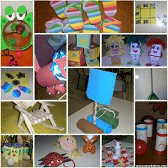 Brinquedos de Sucatas!