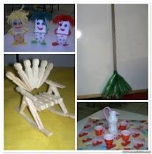 Brinquedos de Sucatas