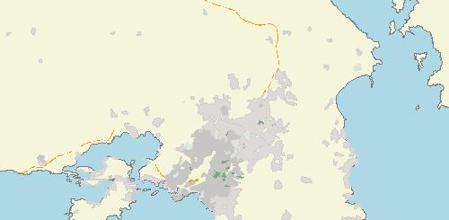 Χάρτης CORINE για την Ελλάδα