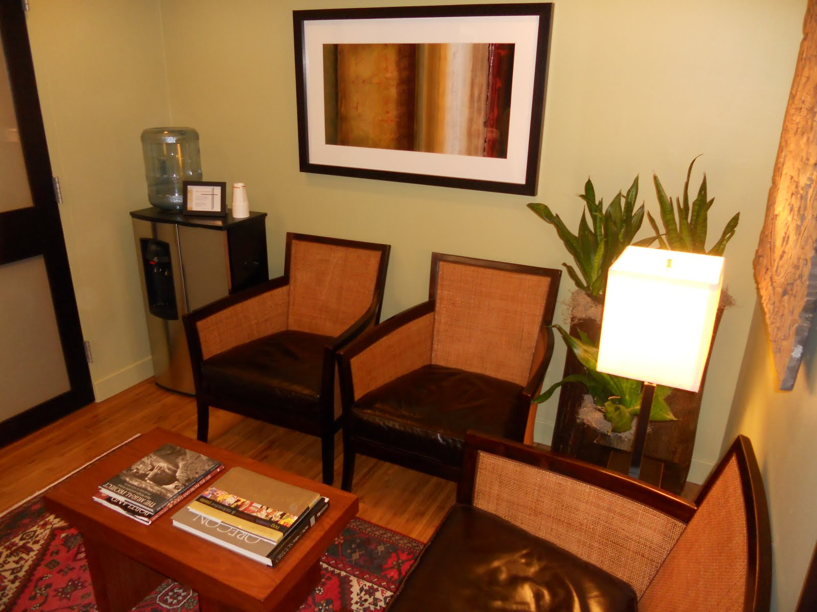 Portland oregon interior design blog the zen inspired for Zen office design ideas