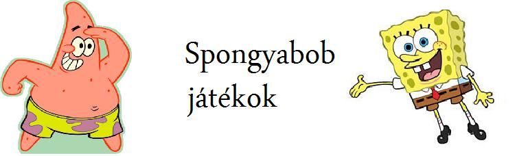 Spongyabob játékok