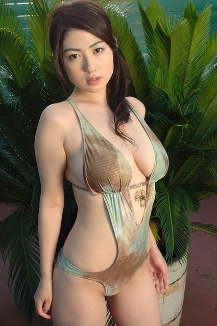 Asian Woman Swimsuit
