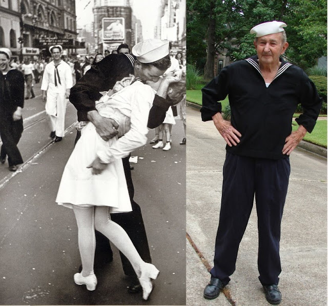 Many have claimed to be the 'kissing sailor' in the iconic picture