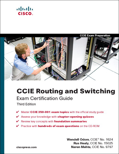 CCIE Routing Switching Exam Certification Guide, Edition