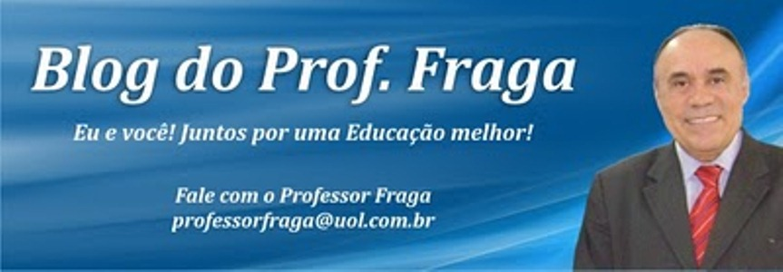BLOG DO PROFESSOR FRAGA