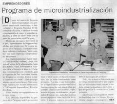 SALON EMPRENDEDOR Nace de un Consorcio Brasileiro p/Export. Convertido a Proyecto p/ Crear Fabricas