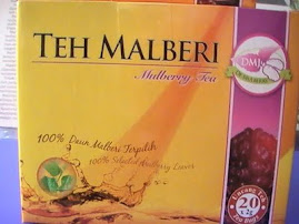 Teh Malberi -RM18/kotak(20 sachet)