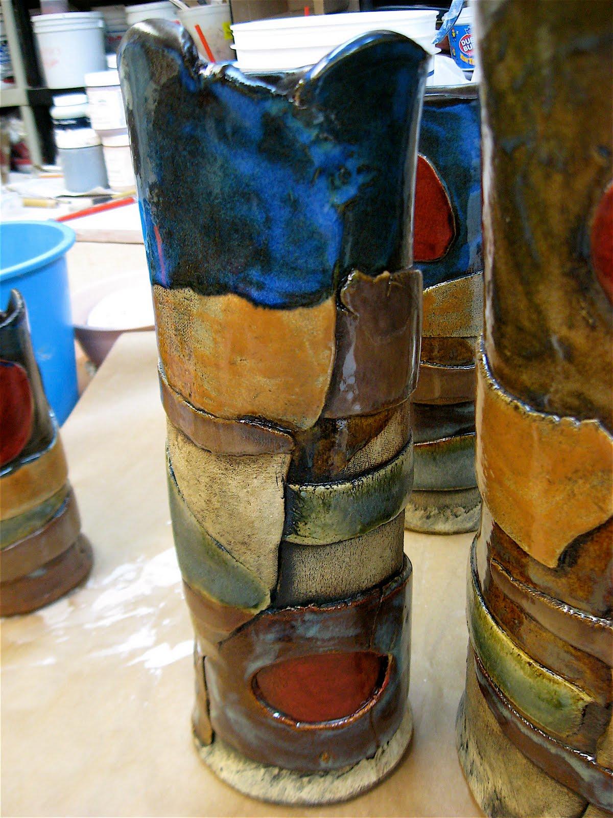 Lindacowardpottery Landscape Pots At Brookside Pottery Tulsa