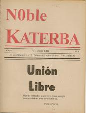 "REVISTA DE NOBLE KATERBA ""UNIÓN LIBRE"" N° 4"