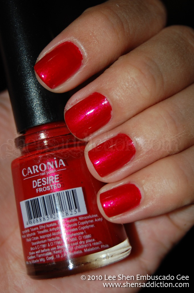Nail Color Desire By Caronia