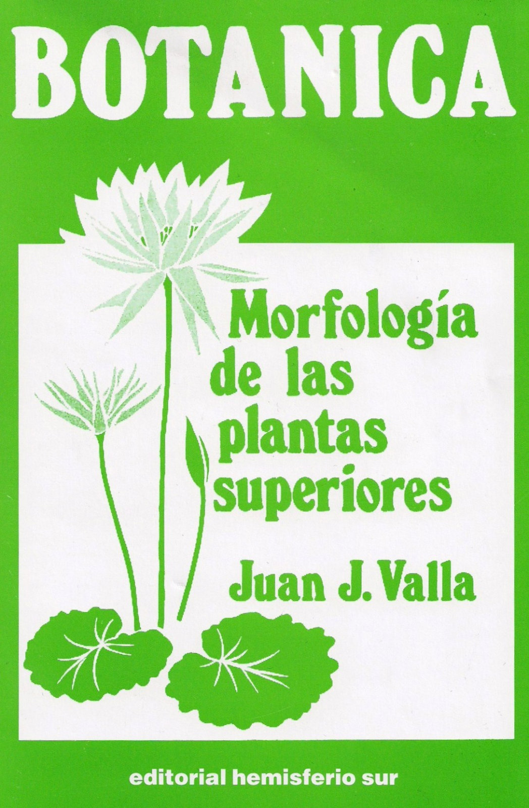 ingenieria forestal libro botanica morfologia de las