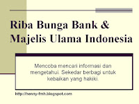 riba, bunga bank, majelis ulama indonesia, bank muamalat