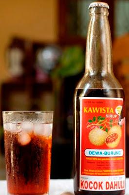 buah sirop kawis
