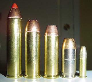 Tipos de municion para armas de