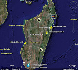 Field station locations in Madagascar