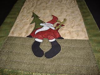 Patchwork en un rincon camino de mesa de navidad - Camino mesa patchwork ...