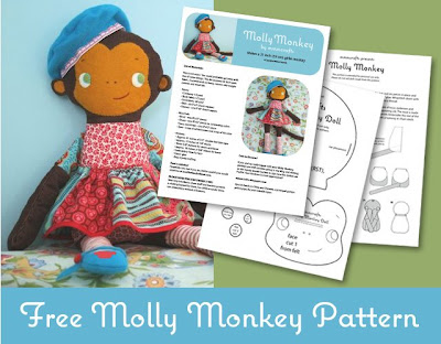 Molly Monkey from mmmcrafts