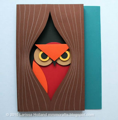 3d Paper Owl From Mmmcrafts Skip To My Lou