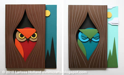 mmmcrafts make 3d owl art
