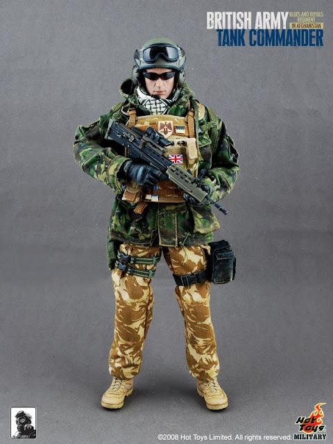 British Army Tank Commander