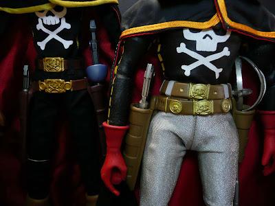 SPACE PIRATE CpT HARLOCK - Captain Harlock (Albator) - (RAH 005 ) Bodies