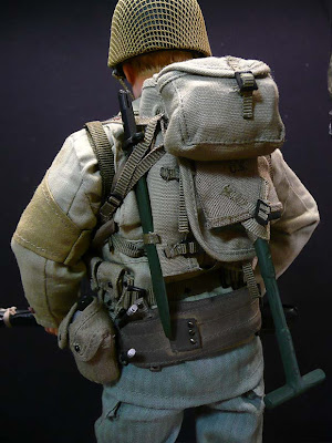 Belgian copy of  Brit '37 Pattern webbing Backpack