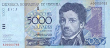 Billete de 5.000 Bs