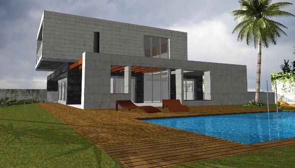 Infograf a y delineaci n 3d vivienda unifamiliar 1 - Paginas de viviendas ...