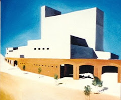 Arizona Architecture  Oil on Canvas