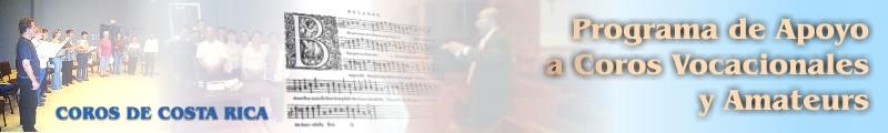 Programa de Apoyo a Coros Vocacionales y Amateurs