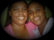 Missionária Lucelena e sua filha Crislaine