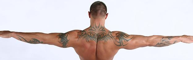 Randy Orton's Tattoos I think people who get tattoos should be ready,