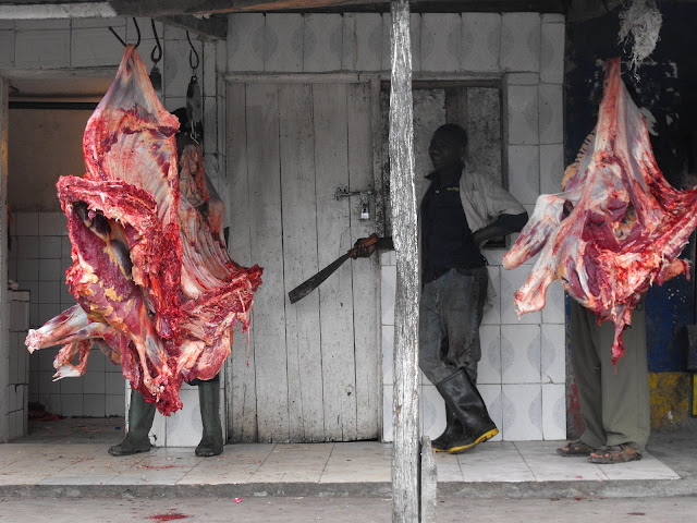 28 novembre - A la boucherie de Ngaramtoni