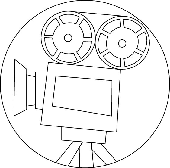 Movie Projector Drawing Movie projector - daily