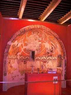 Pantocrator de Villamana en el Museo Diocesano de Barbastro-Monzón (Somontano, Huesca, Aragón, España)