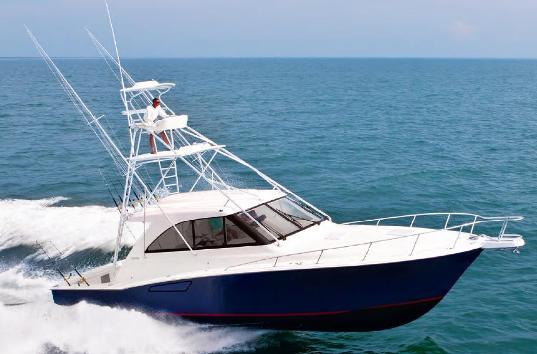 Replacing the 45 Express, the new Cabo 44 Hardtop Express takes a better ...