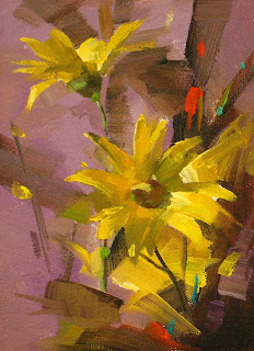 Yellow Daisy - Posted on Thursday, February 25, 2010 by Qiang Huang