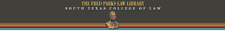 The Fred Parks Law Library Blog