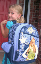 Madi's 1st day of school (1st grade)