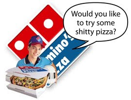 New dominos pizza sucks